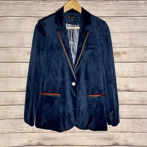 Carre Noir Blazer - Navy - Medium